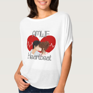 AMWF Heartbeat Logo Blouse - Womens T-Shirt