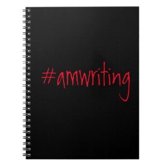 #amwriting note book