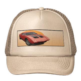 AMX 3 Sports Car Trucker Hats