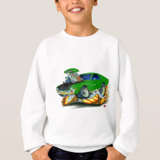 AMX Green-Black Car Sweatshirt