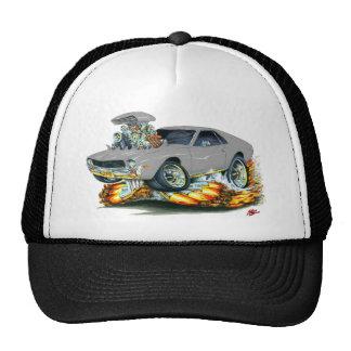 AMX Silver Car Trucker Hat