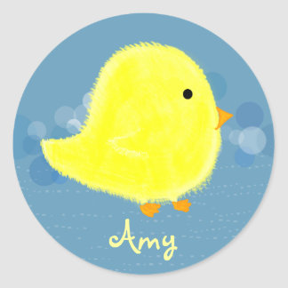 Amy Baby Chick Sticker 369MyName