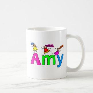 Amy Basic White Mug