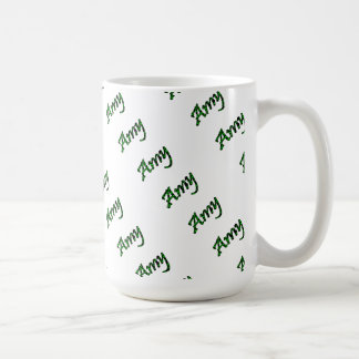 Amy Classic White Mug