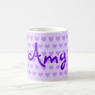 Amy in Purple Coffee Mug