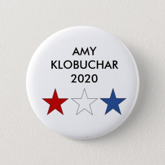 Amy Klobuchar 2020 Presidential Button