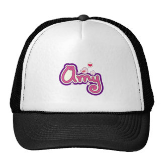 Amy Name Personalized Cap