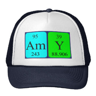Amy periodic table name hat