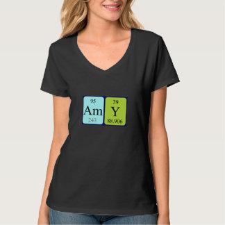 Amy periodic table name shirt