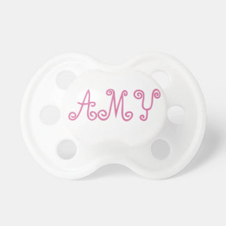 Amy Pink Paci Dummy