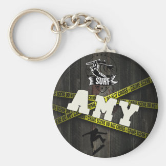 AMY - Skater Style Key Ring