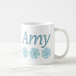 Amy Snowflake Coffee Mug