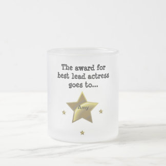 AMY: The Award For Best Lead Actress Coffee Mug