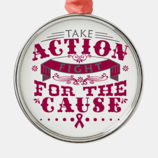 Amyloidosis Take Action Fight For The Cause Christmas Tree Ornaments