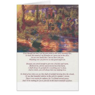 Amys poem II Card