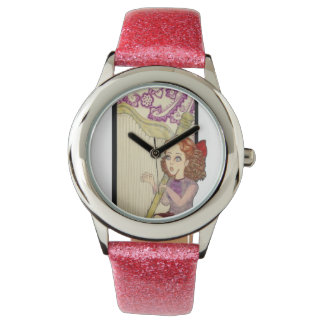 """Amythest"" Sparkle Pink Watch"
