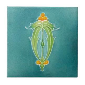 AN053 Art Nouveau Reproduction Antique Tile