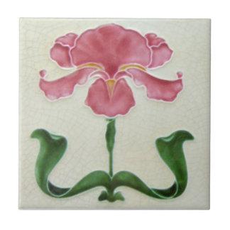 AN058 Art Nouveau Reproduction Antique Tile