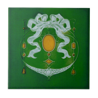 AN067 Art Nouveau Reproduction Antique Tile