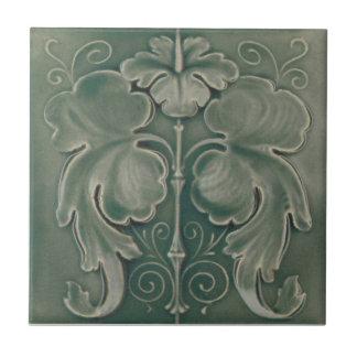 AN093 Art Nouveau Reproduction Antique Tile