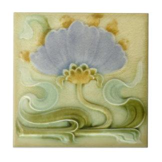 AN106 Art Nouveau Reproduction Antique Tile