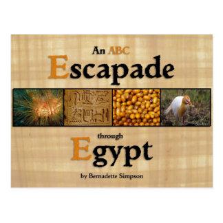 An ABC Escapade through Egypt Postcard