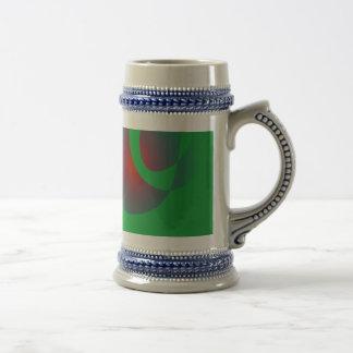 An Abstract Rose Coffee Mugs