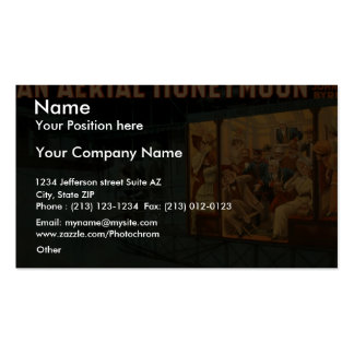 An Aerial Honeymoon, 'A Compartment for Two' Pack Of Standard Business Cards