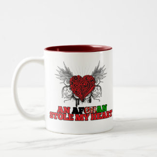 An Afghan Stole my Heart Two-Tone Coffee Mug