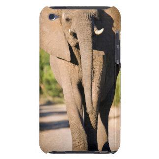 An African Elephant (Loxodonta Africana) Walks iPod Case-Mate Case