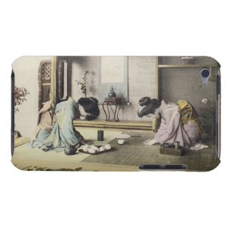 An Afternoon Call, c.1880 (hand coloured albumen p iPod Touch Covers