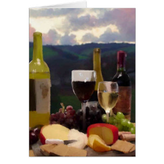 An Afternoon in Wine Country Card
