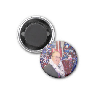 An All American Guy 3 Cm Round Magnet
