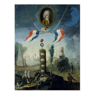 An Allegory of the Revolution Postcard