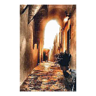 an-alleyway-in-Florence.jpg Personalized Stationery