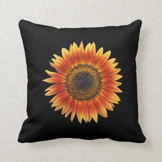 An Amazing Autumn Beauty Sunflower Throw Cushions