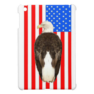 An American Bald Eagle With an American Flag Case For The iPad Mini