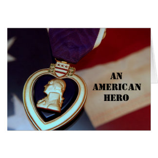 An American Hero Card
