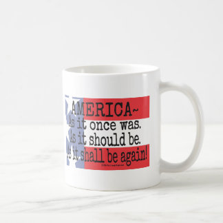 """An American Toast"" Coffee Mug"