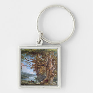 An Ancient Beech Tree, 1794 (oil on canvas) Keychains