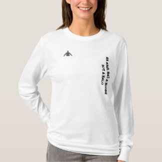 'AN ANGEL HAS A HOODIE...' womans hoodie