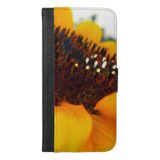 An Angled Sunflower iPhone 6/6s Plus Wallet Case