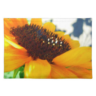 An Angled Sunflower Placemat