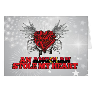An Angolan Stole my Heart Card