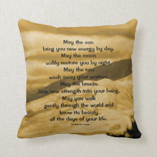 An Apache prayer Cushion