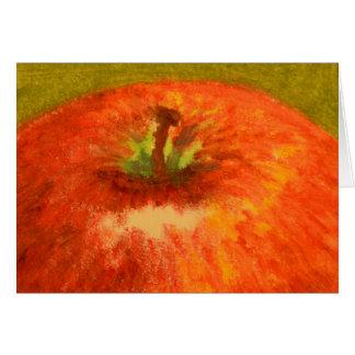 An Apple a Day Blank Card