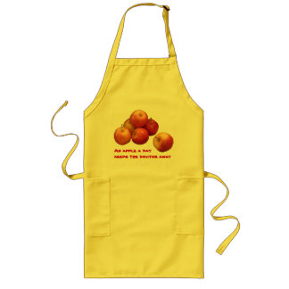 An Apple a Day Long Apron