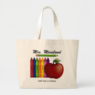 An Apple for the Teacher Tote by SRF