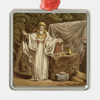 An Arch Druid in his Judicial Habit, engraved by R Christmas Tree Ornament