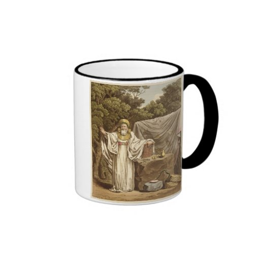 An Arch Druid in his Judicial Habit, engraved by R Coffee Mug